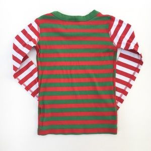 Hanna Andersson Pajamas - Hanna Andersson Christmas red green pajama pj top